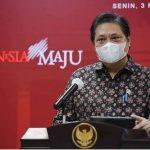 Menteri Koordinator Bidang Perekonomian (Menko Perekonomian) Airlangga Hartarto